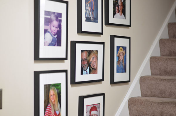 Decorating with photos-createandbabble.com