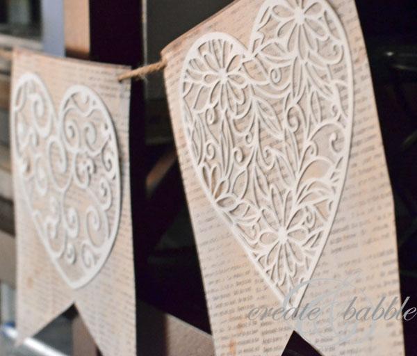 Paper Valentine Banner-createandbabble.com