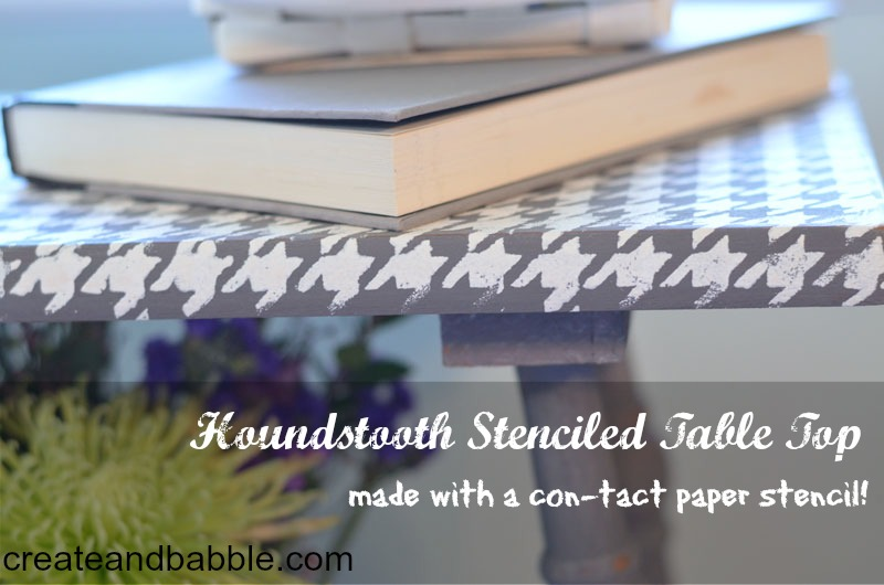 Make Your Own Stencil Using ConTact Paper