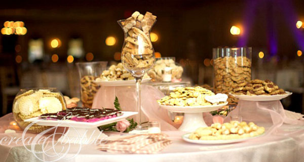 A Pittsburgh tradition: Wedding Reception Cookie Table