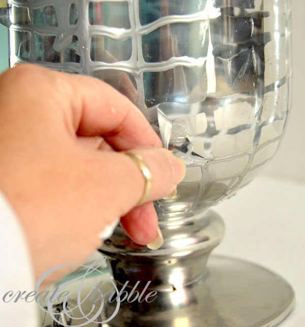 Diy mercury glass vase create and babble mercury glass vasecreateandbabble solutioingenieria Choice Image