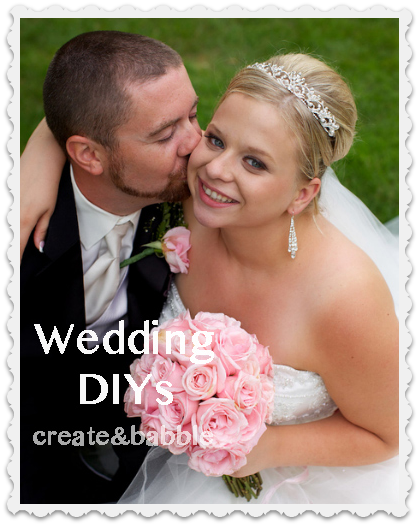 wedding DIYs by createandbabble.com