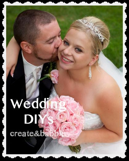 wedding DIYs by createandbabble.com