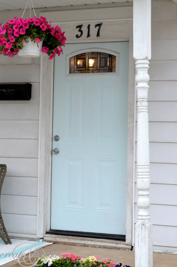 painted front door_createandbabble