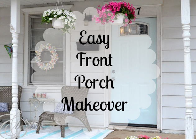 Easy Front Porch Makeover_createandbabble