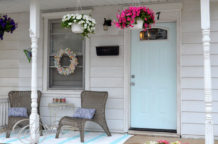 Front porch makeover_createandbabble