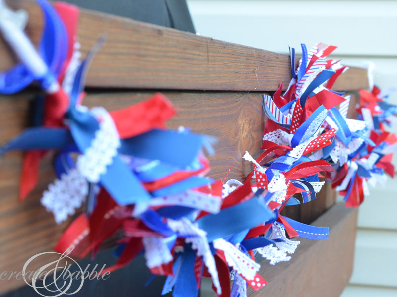 patriotic ribbon garland_createandbabble.com