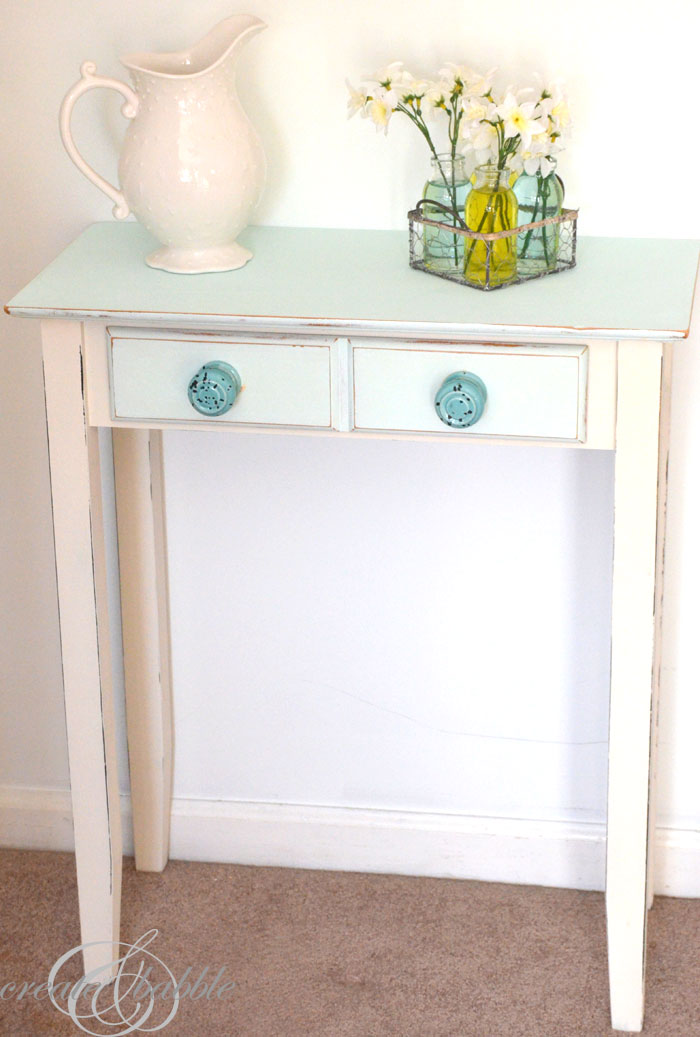 homemade chalk paint_createandbabble