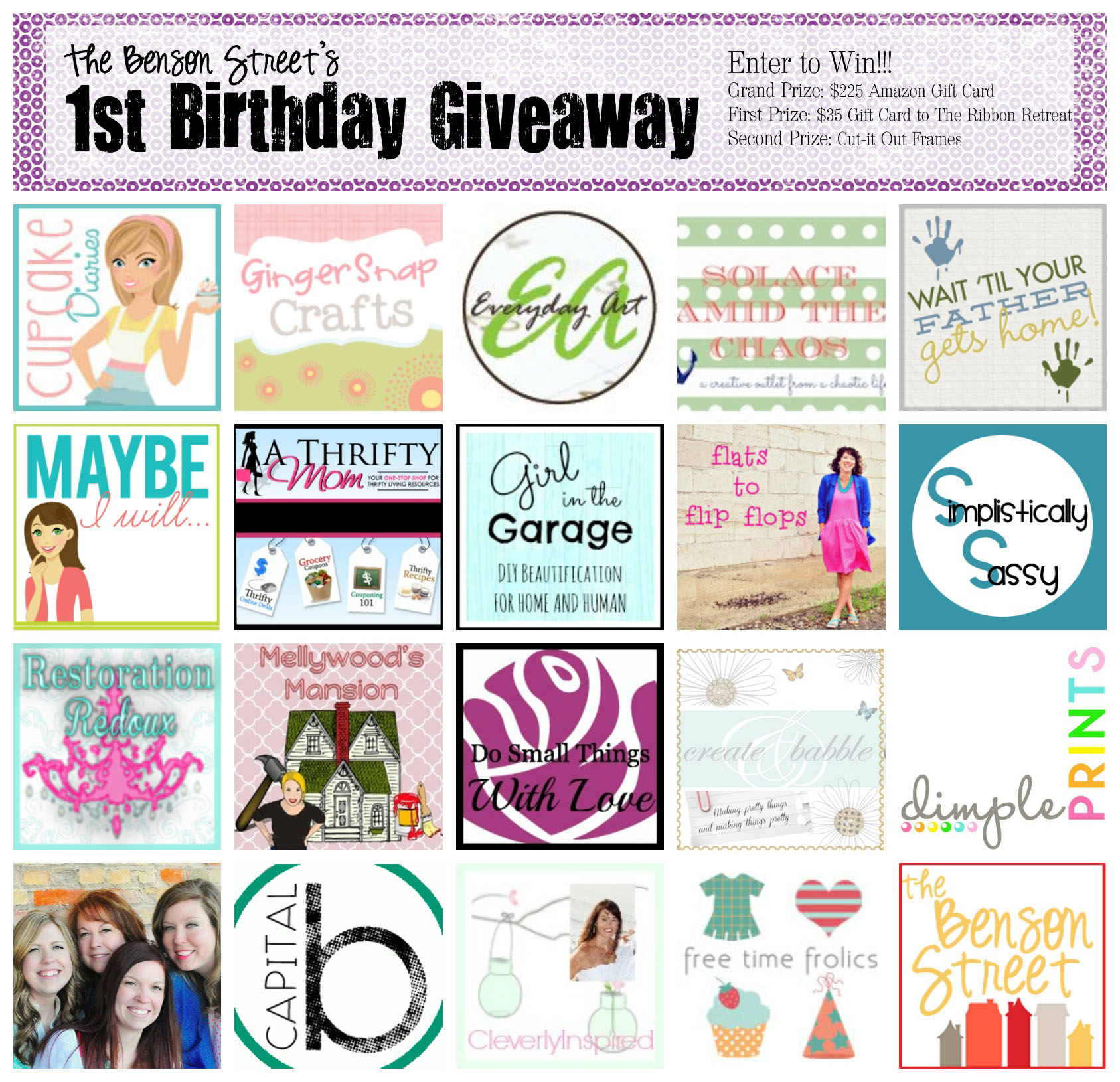 The Benson Street Huge Birthday Giveaway (1)