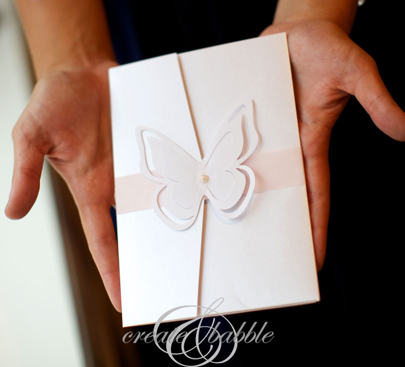DIY Wedding Invitations Createandbabble