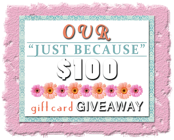 Just Because Giveaway