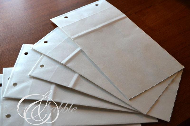 paper bags for scrapbook_createandbabble