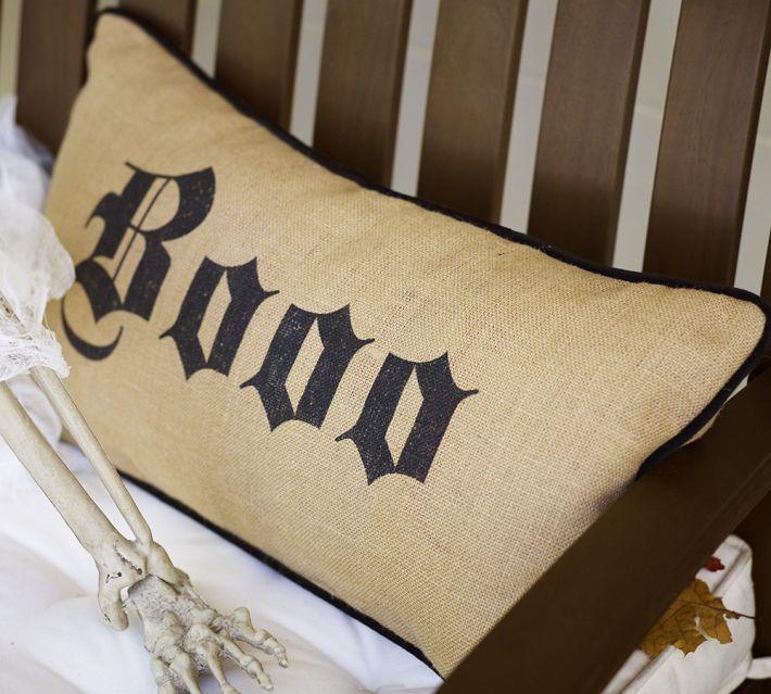 Pottery Barn Boo Pillow