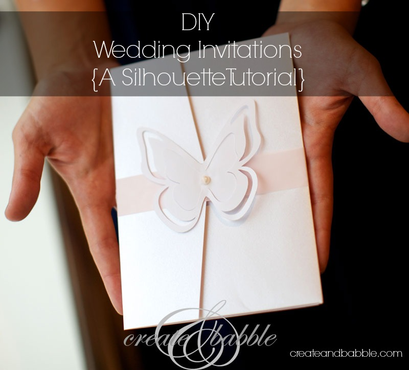 DIY Wedding Invitations_createandbabble.com
