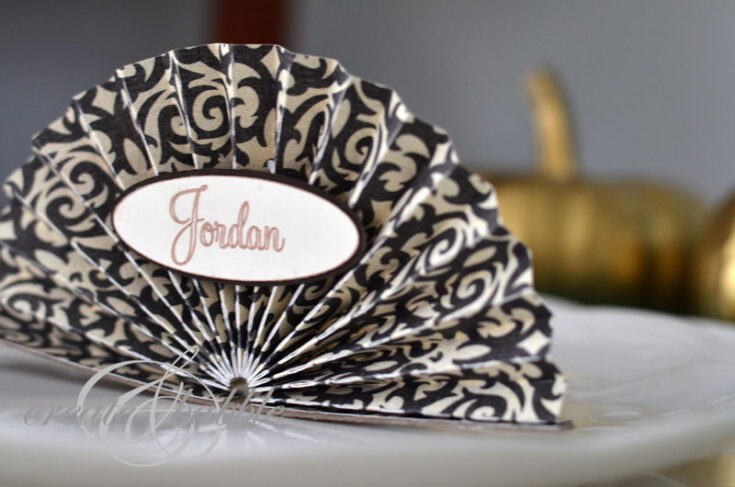 Easy To Make Thanksgiving Place Cards
