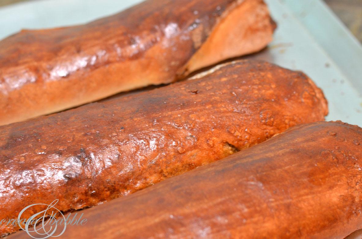 baked nut rolls_createandbabble