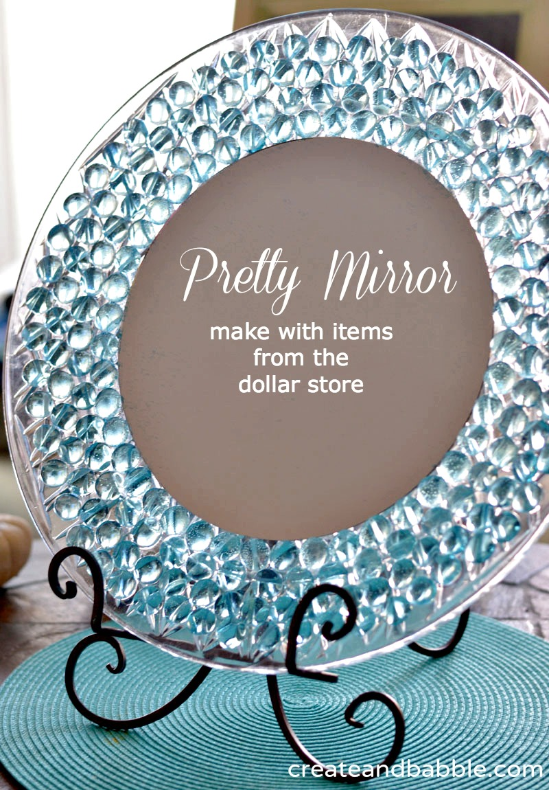 A Dollar Store Craft Pretty Dresser Mirror