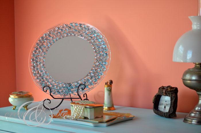 diy dresser mirror