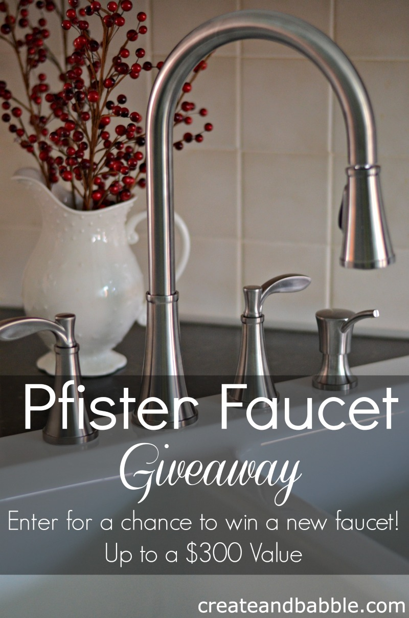 pfister faucet giveaway