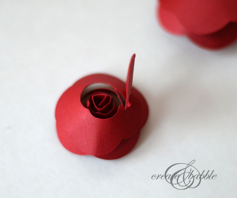 rolled paper rose christmas tree by createandbabble-6