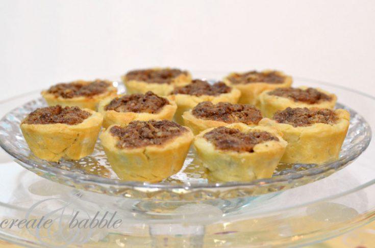 Christmas Cookies - Old Family Favorites - Pecan Tassies
