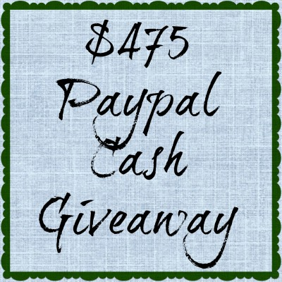 $475 Paypal Cash Giveaway
