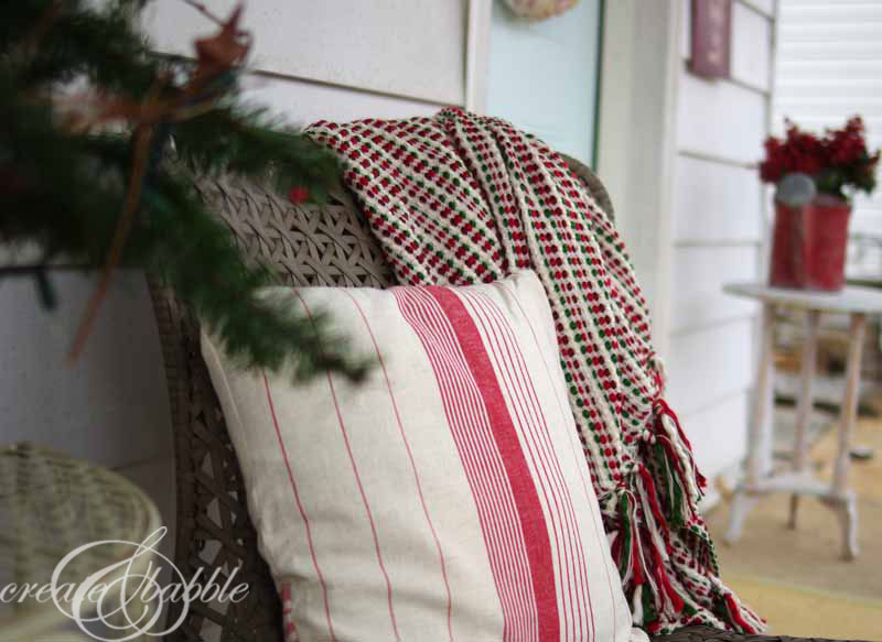 front porch christmas decor-2 by createandbabble.com
