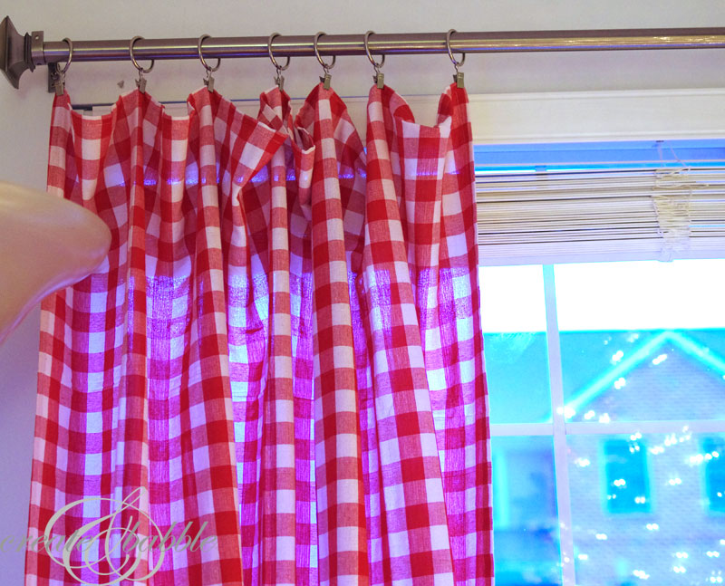 use tablecloths for curtains_createandbabble.com