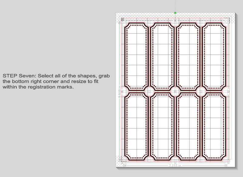 custom print and cut labels by createandbabble