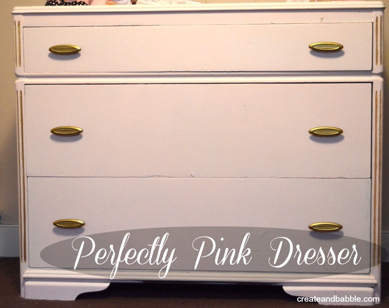 perfectly pink dresser by createandbabble