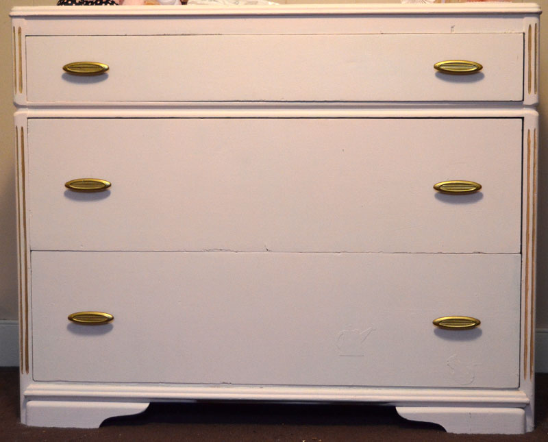 perfectly pink baby dresser by createandbabble.com