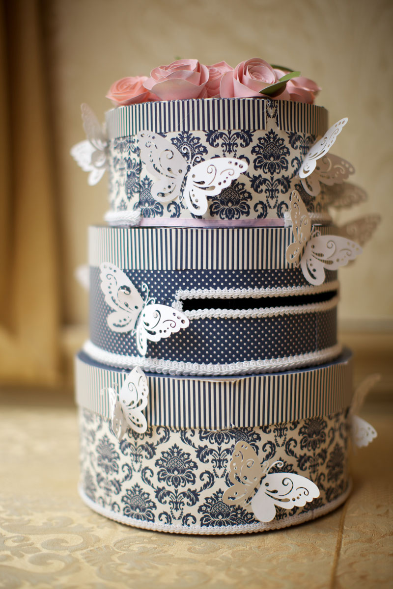 DIY Wedding Cake Card Box Tutorial - Create and Babble
