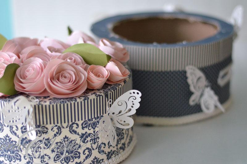 wedding cake card box-2 by createandbabble.com