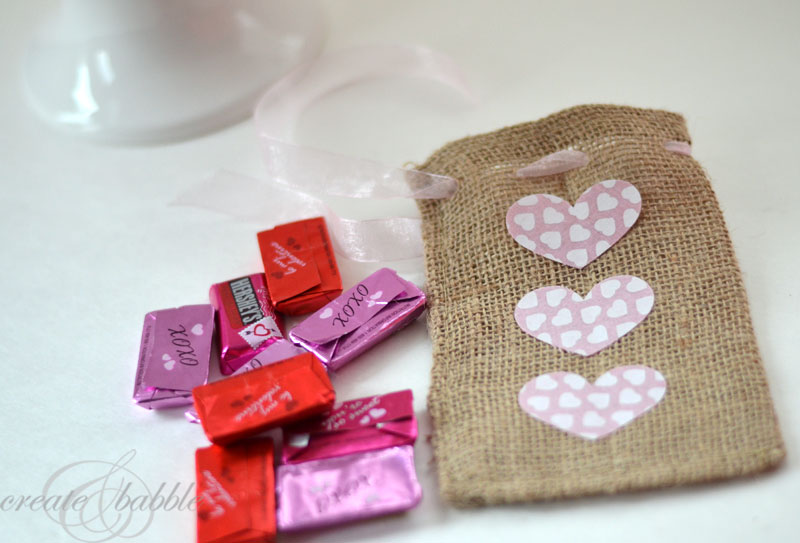 valentine treat bags by createandbabble