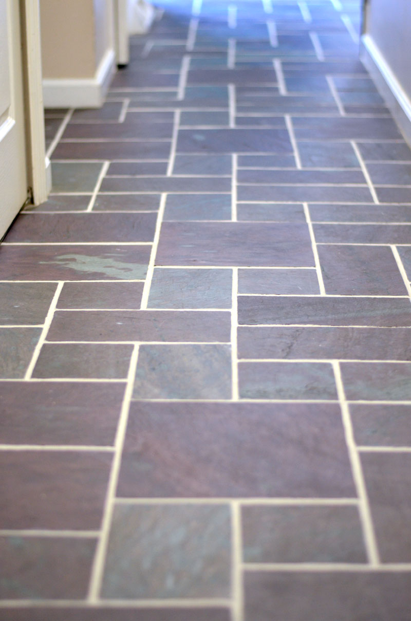 Slate floor grout renew create and babble slate floor renew by createandbabble doublecrazyfo Image collections
