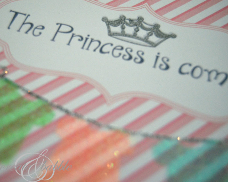 DIY Baby Girl Shower Invitations