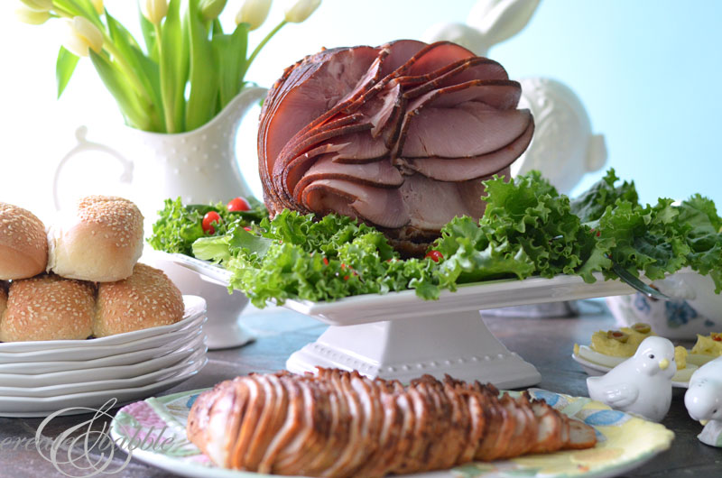 Honeybaked ham easter dinner and gift card giveaway create and honeybaked ham for easter createandbabble negle Images