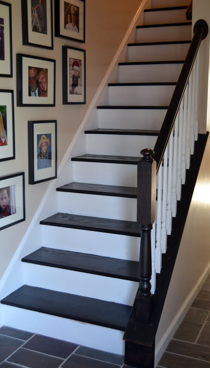 staircase makeover by createandbabble.com