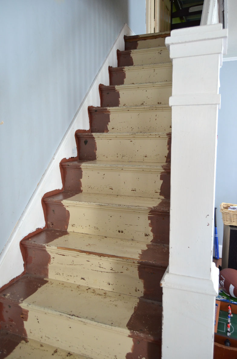 staircase to be renovated