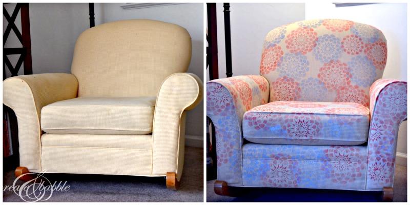 chair-makeover-using-stencil-createandbabble.com