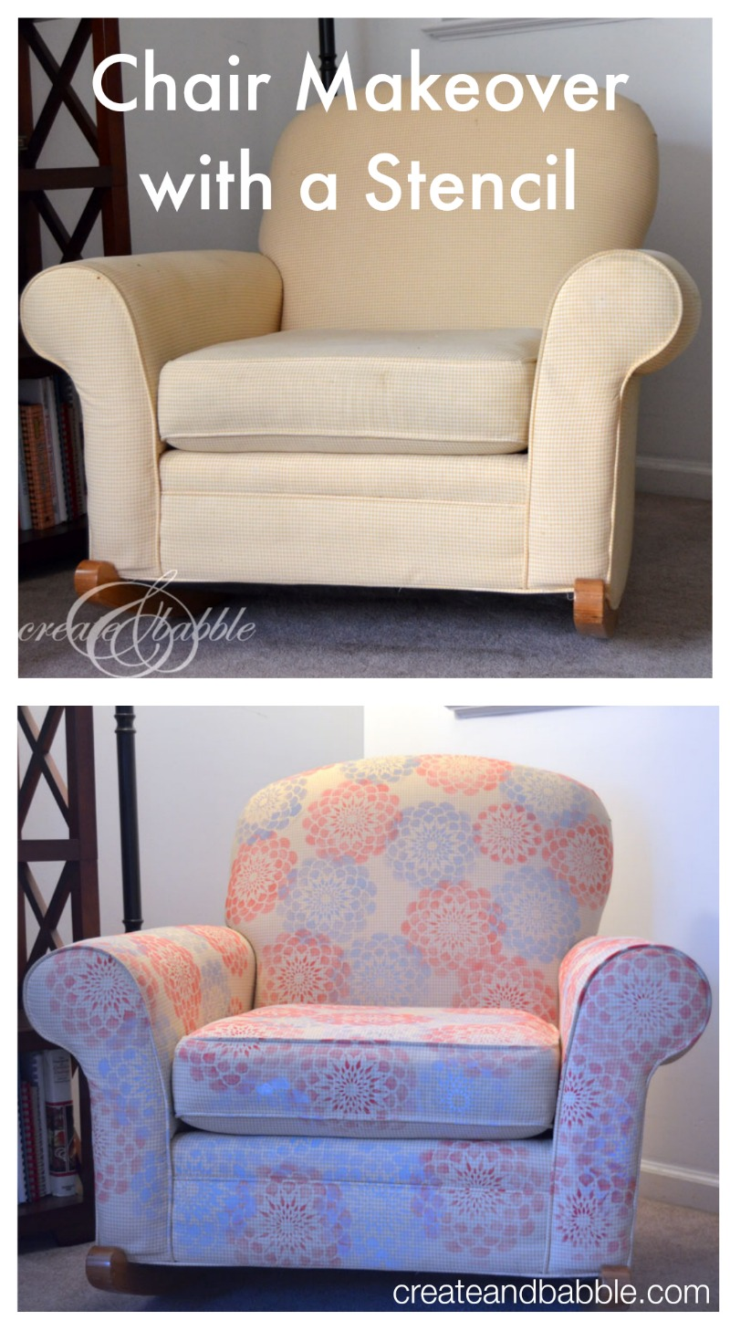 chair-makeover-with-stencil-createandbabble.com