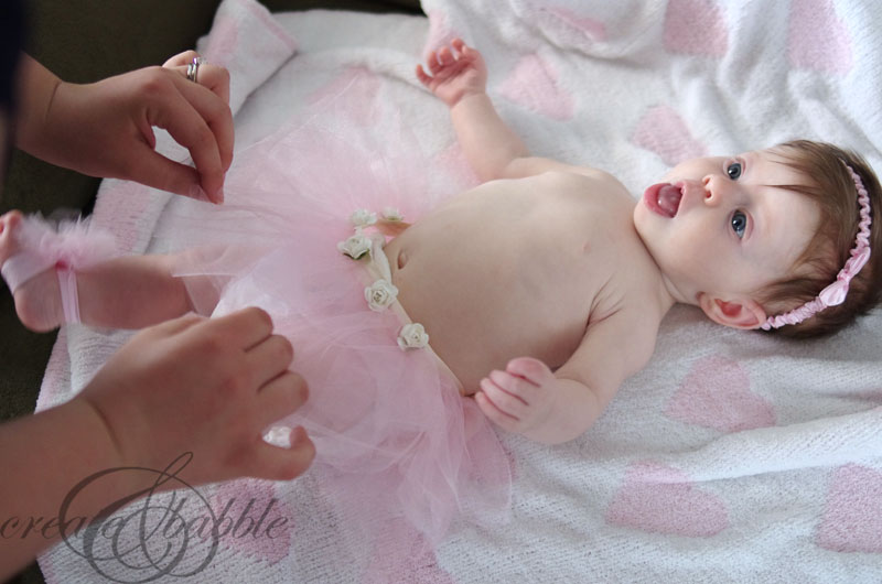 Diy Baby Tutu And Barefoot Sandals Createandbabble