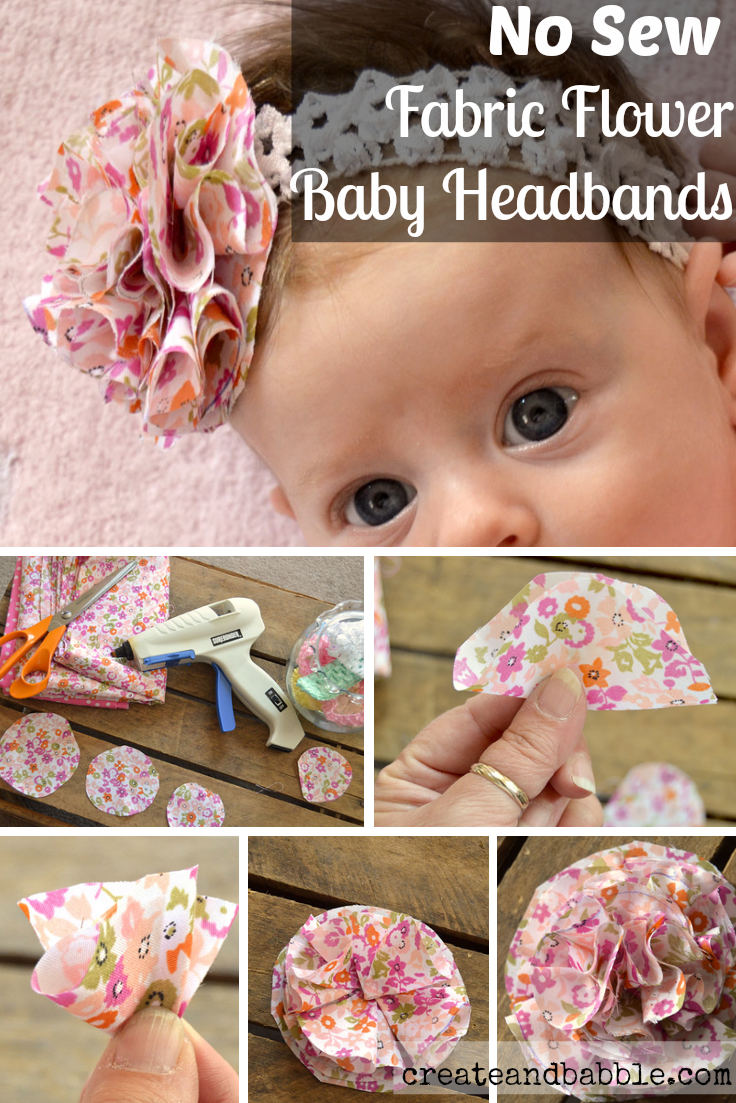 Fabric flower baby headbands create and babble diy fabric flower baby headbands createandbabble solutioingenieria Images