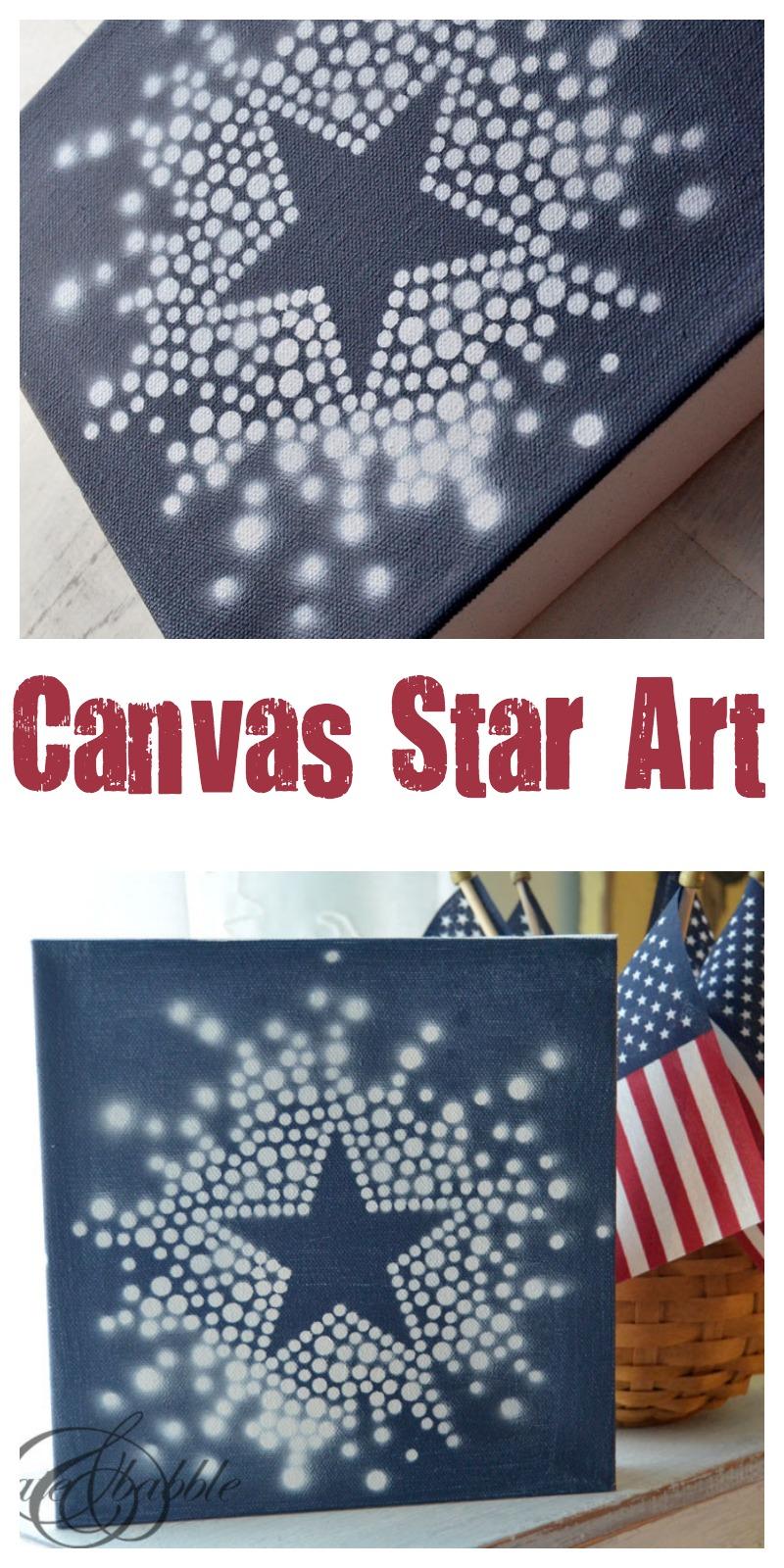 4th-of-July-Star-Canvas | Createandbabble.com