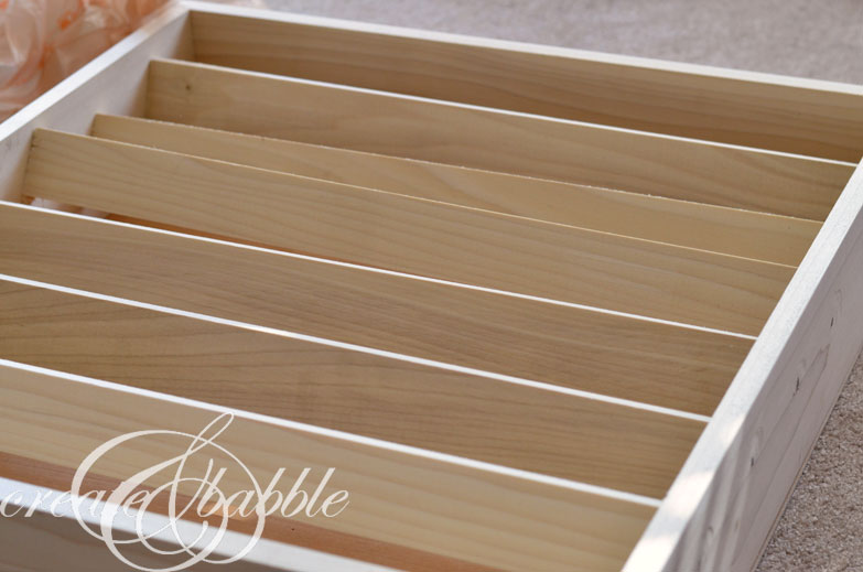 Paint Storage Shelf by createandbabble