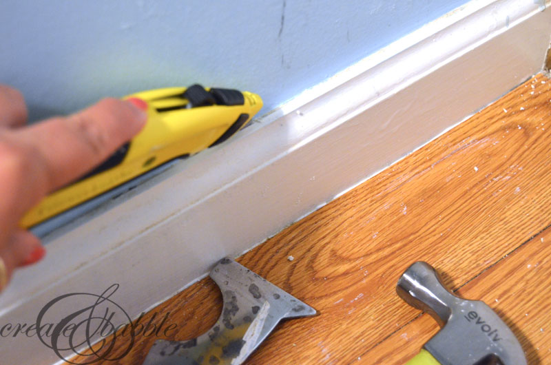 removing-baseboard-createandbabble