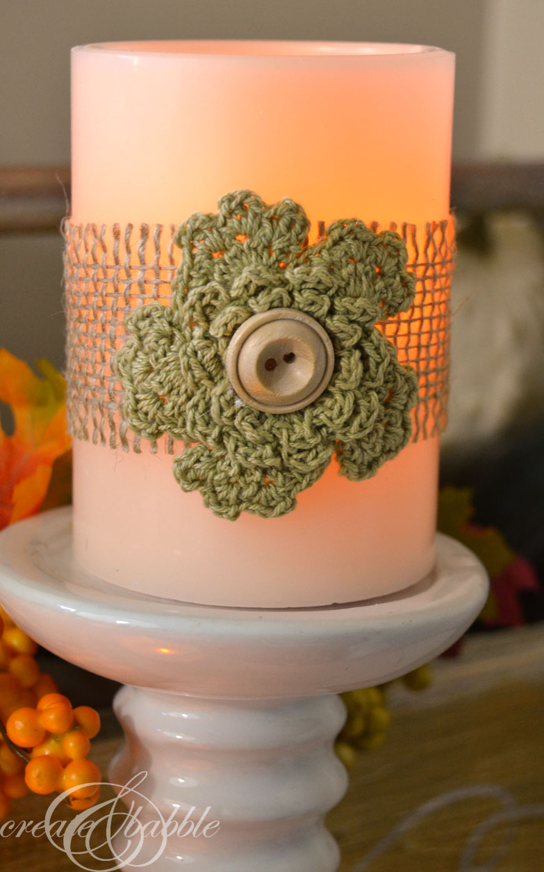 decorate plain candles-createandbabble.com