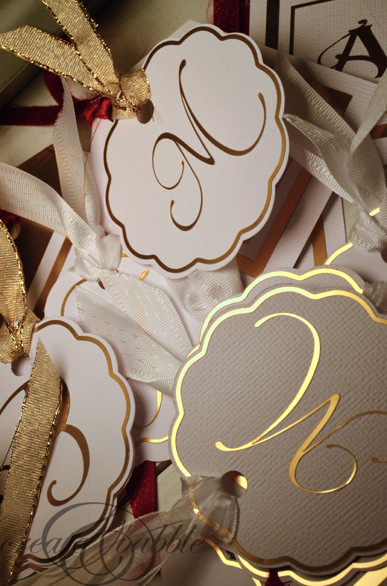 DIY Gift Tags by createandbabble.com