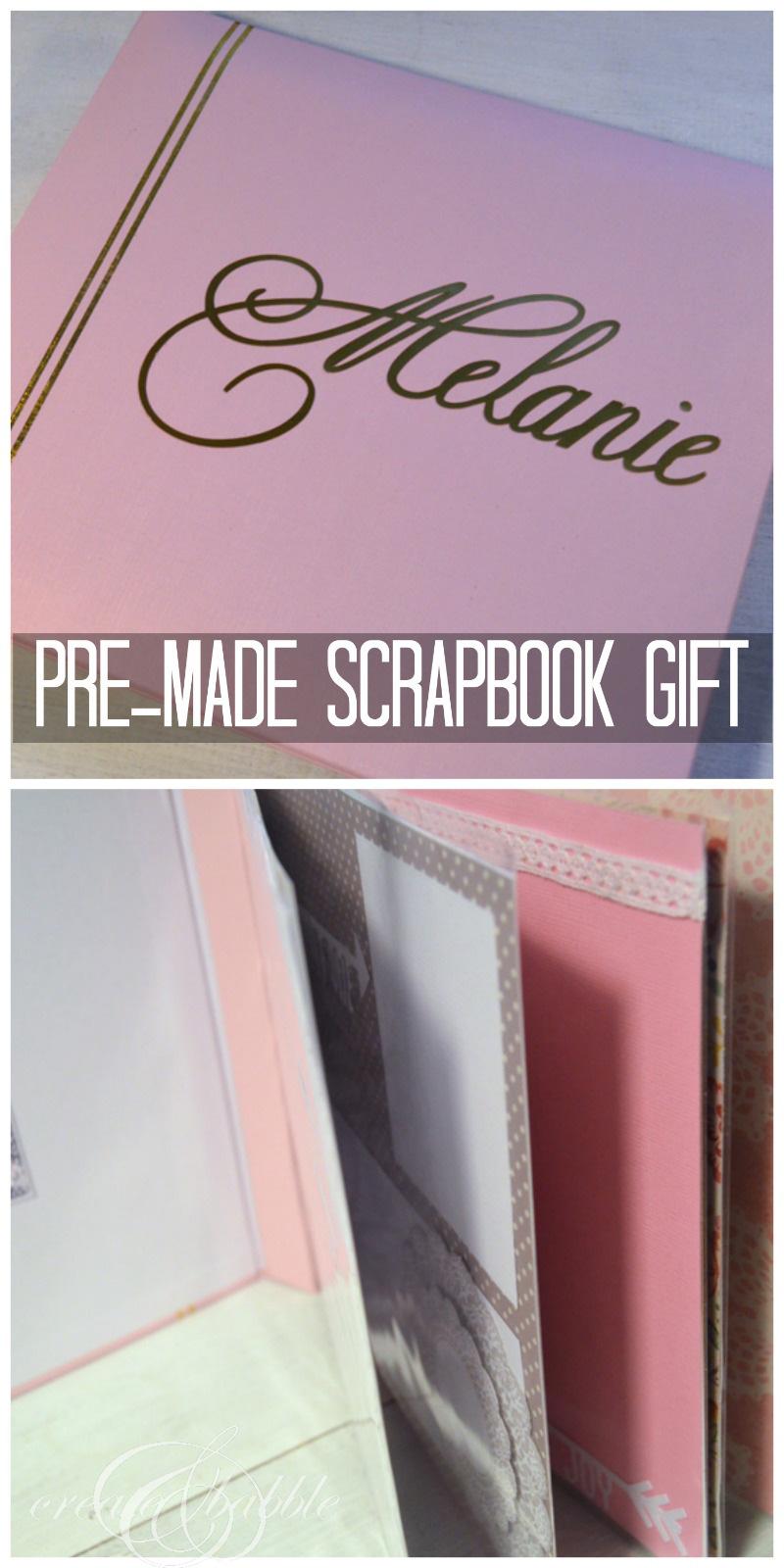 scrapbook gift