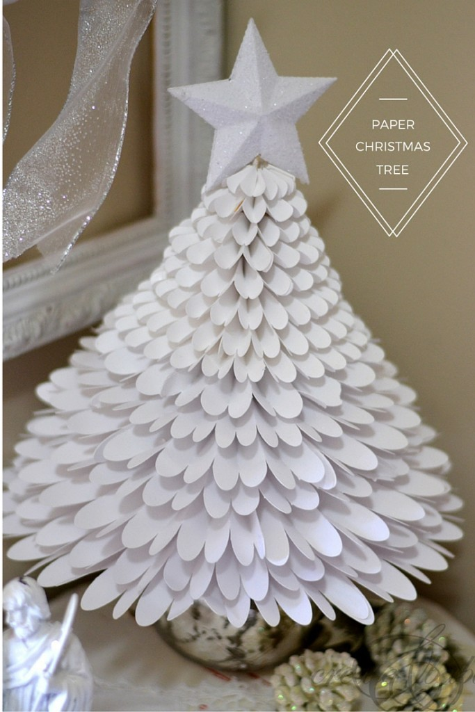 Paper Christmas Tree.Paper Christmas Tree Create And Babble